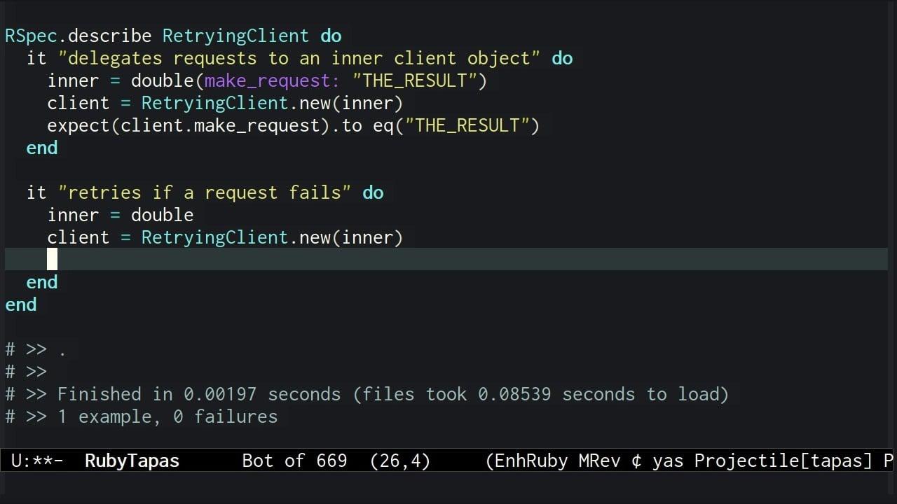 Episode #284: Testing Retry – RubyTapas
